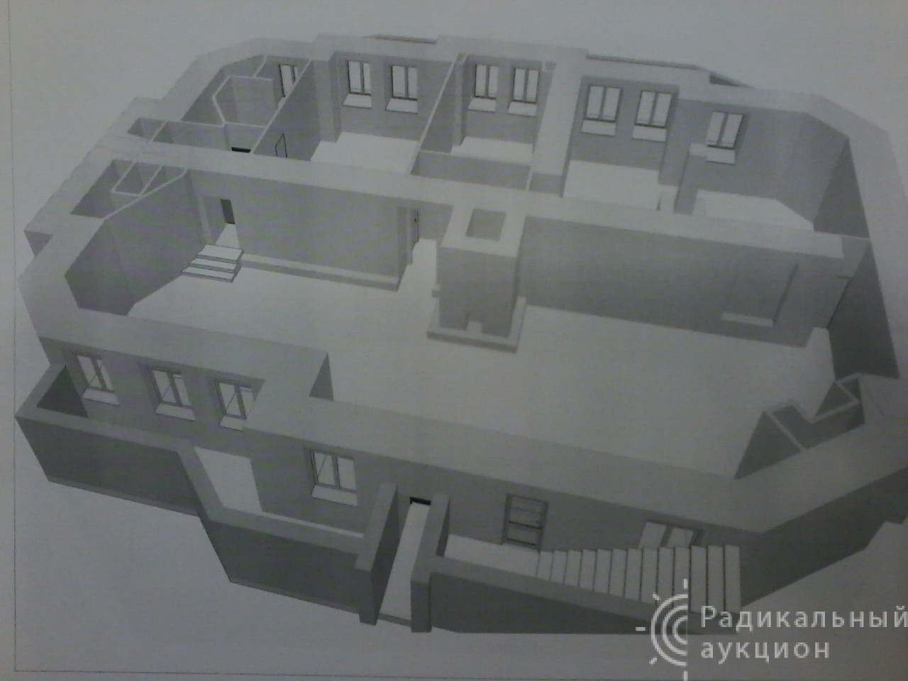 Коммерческая недвижимость, комбинированная, 291 кв.м